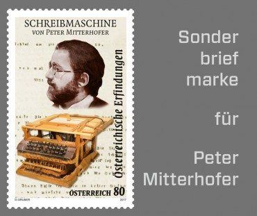 Briefmarke für Peter Mitterhofer