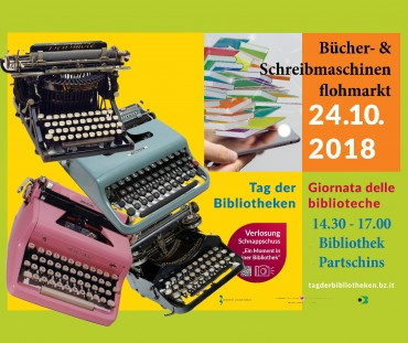 Mercatino di macchine da scrivere